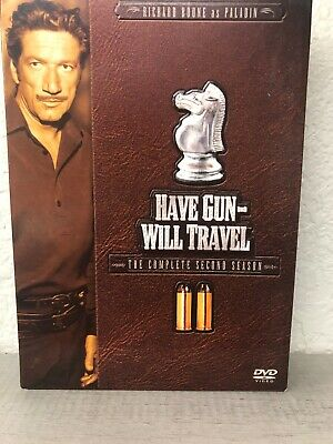 $9.98 • Buy Have Gun Will Travel - The Complete Second Season 2 - DVD - Excellent!