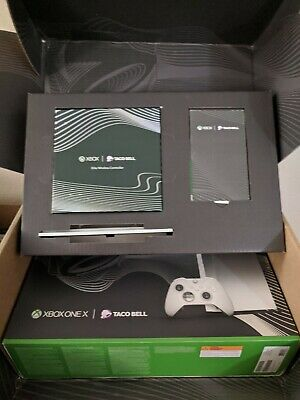 $650 • Buy Xbox One X Platinum Taco Bell Limited Edition W/Elite Controller - RARE & NEW