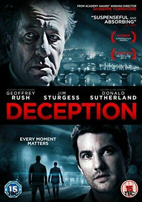 £11.66 • Buy Deception [DVD] - DVD  62VG The Cheap Fast Free Post