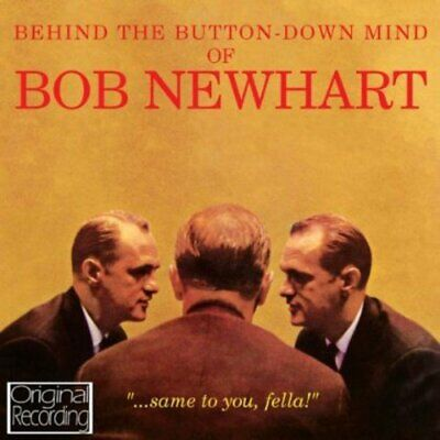 Bob Newhart - Behind The Button Down Mind - Bob Newhart CD MKVG The Cheap Fast • 3.49£