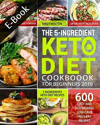 $2.49 • Buy The 5-Ingredient Keto Diet Cook - Walton : ËBooks P.DF - 🔥 Fast Delivery 🔥