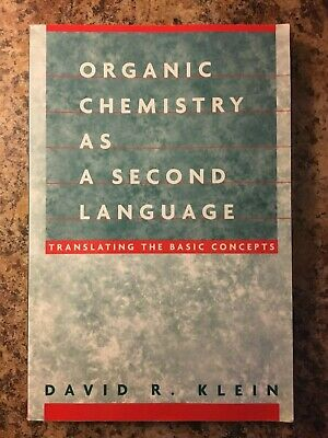 $24.99 • Buy Organic Chemistry As A Second Language By David R. Klein 2004 Paperback