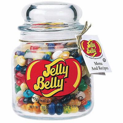 Jelly Belly 49 Assorted Jelly Bean Flavors Apothecary Jar • 18.51£