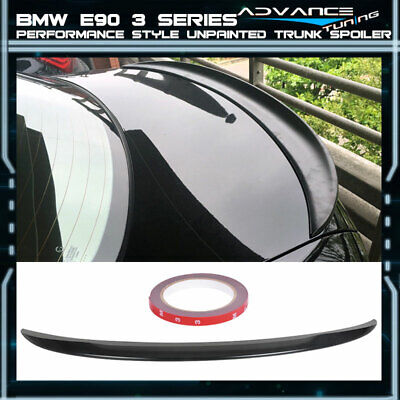 $72.41 • Buy 06-11 BMW 3 Series E90 P Style Unpainted ABS Trunk Spoiler