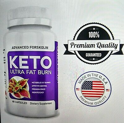 $10 • Buy Keto Ultra Powerful Weight Loss & Fat Burner 60 Caps. Advance Forskolin.
