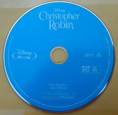 $9 • Buy Christopher Robin Blu Ray Disc Only....NO CASE
