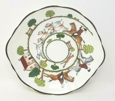 Coalport Hunting Scene 6.5 Inch Scatter Sweet Or Trinket Dish Wedgwood Crown  • 14.99£
