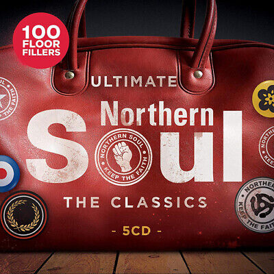 Various Artists : The Classics: Ultimate Northern Soul CD Box Set 5 Discs • 6.96£