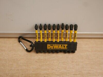 Dewalt Flex Torq  Dt7276 10 X Pz1 2 3  Mixed High Impact Screwdriver Bits X 50mm • 10.85£