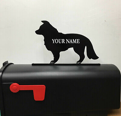 $24.95 • Buy Border Collie Mailbox Topper Mb18