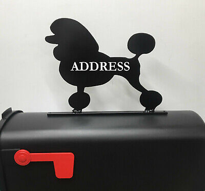 $24.95 • Buy Poodle Mailbox Topper Mb06