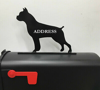 $24.95 • Buy Boxer Mailbox Topper Mb19