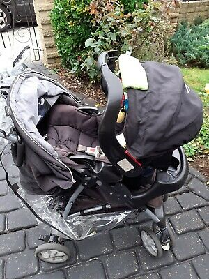 Graco Mirage Travel System Single Seat Stroller Including Infant Car Seat • 30£