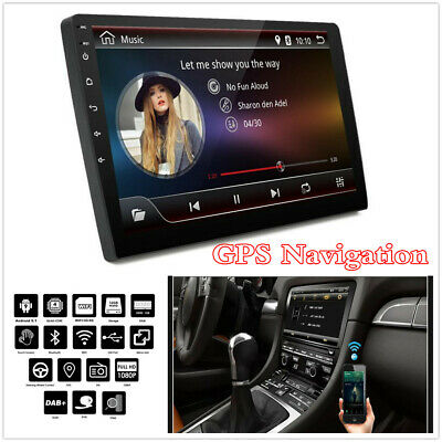 AU178.38 • Buy Android9.1 Quad-core GPS Navigation Head Unit 9  2Din Bluetooth Car Stereo Radio
