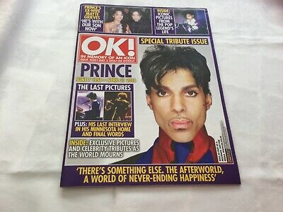 Prince - OK Magazine - Special Tribute Issue 2016 • 9.50£
