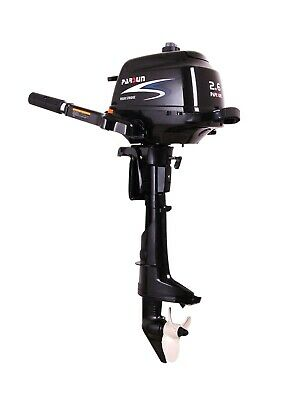 AU895 • Buy 2.6HP PARSUN OUTBOARD MOTOR Short Shaft Manual Start WATER COOLED 2YR WARRANTY