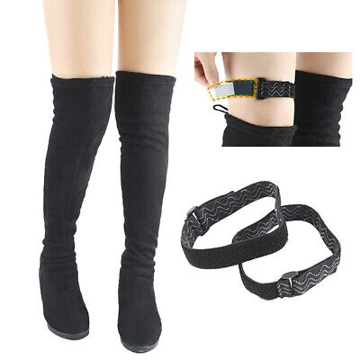 Women Knee Boot Straps Boot Keeper Boot Support Holder Belt - Keep In Place • 2.75£