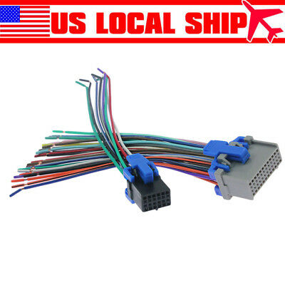 $10.66 • Buy Reverse Radio Stereo Wiring Harness For 2002-up GM Factory Radio Installation