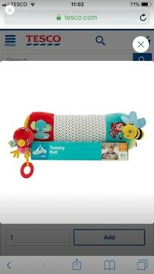 Tummy Time Roller • 10£