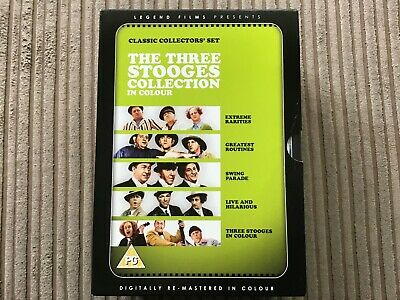 The Three Stooges Collection In Colour Dvd Boxset • 11.95£