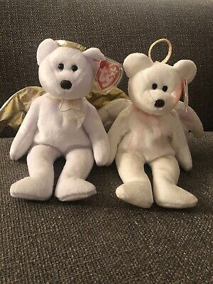 TY© THE BEANIE BABIES COLLECTION® - HALO & HALO II™ The BEAR - *RARE*  • 800£