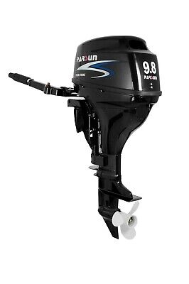 AU2295 • Buy 9.8HP PARSUN OUTBOARD MOTOR. Short Shaft, 4-Stroke, Manual Start, 2YR WARRANTY