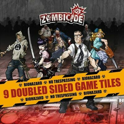 AU24.99 • Buy BRAND NEW Zombicide: 9 Double Sided Game Tiles