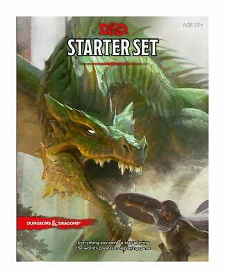 £15.99 • Buy Wizards Of The Coast Dungeons And Dragons Starter Set (92160000)