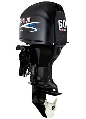 AU8595 • Buy 60HP EFI PARSUN OUTBOARD MOTOR Forward Control Long Shaft 4-Stroke 2YR WARRANTY