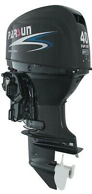 AU7895 • Buy 40HP EFI PARSUN OUTBOARD MOTOR Forward Control Tilt / Trim Short Shaft 4-Stroke