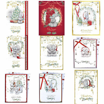 Me To You Bear Large Luxury Christmas Cards (Assorted) • 14.99£
