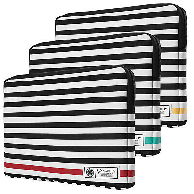 $ CDN43.51 • Buy Stripe Leather Laptop Sleeve Case Bag For 17.3  Dell Alienware M17/ Inspiron 17