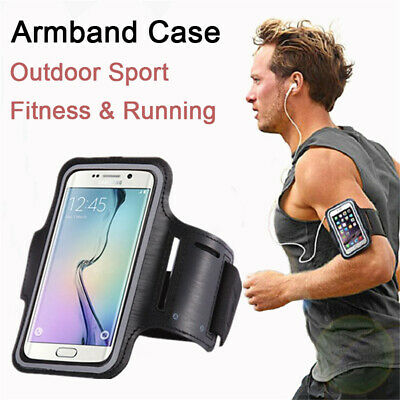 $ CDN5.05 • Buy For Samsung Galaxy S10 S9 S8 Plus S7 Gym Running Phone Bag Sport Arm Band Case