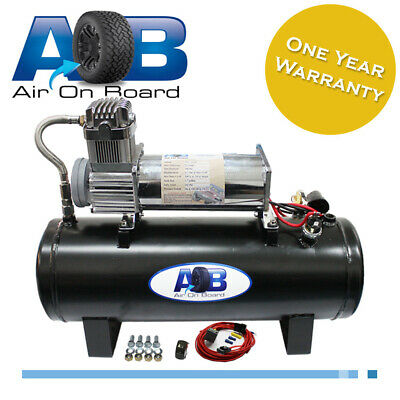 AU364 • Buy 50024 Air Compressor 24 V Air Bag Suspension Ride Patrol Hilux Bus 4X4 Airlift