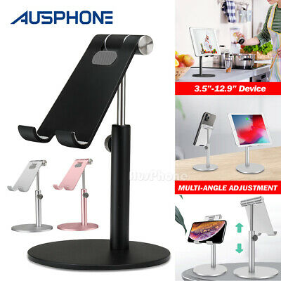 AU18.95 • Buy Adjustable Aluminum Tablet Stand Holder Desk Table Mount For IPad IPhone Samsung