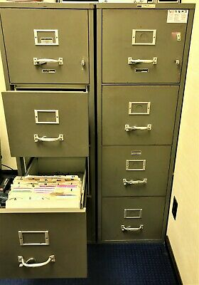 Safes Fire Proof 4-drawer Insulated Vertical File Cabinets  • 885$