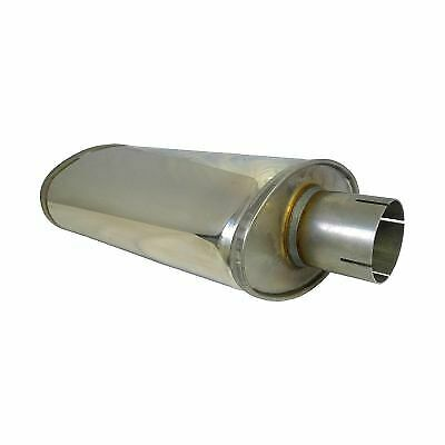 £84.98 • Buy Jetex Universal Exhaust Oval Silencer Box 2.5 Inch Stainless Steel - U316300R