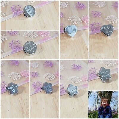 £8.99 • Buy Christmas Charm, Personalised Engraved Photo Gift For Her, Mum, Wife, Nanny