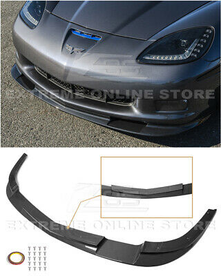 $269.99 • Buy EOS For 05-13 Corvette C6 Z06 | ZR1 Style HYDRO CARBON FIBER Front Splitter Lip