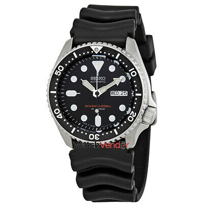 $ CDN505.99 • Buy Seiko Automatic Black Dial Black Rubber Men's Watch SKX007J1