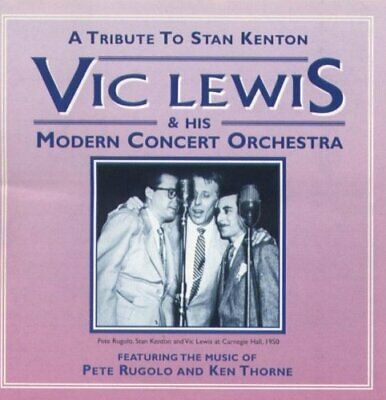 £3.90 • Buy Lewis, Vic - A Tribute To Stan Kenton - Lewis, Vic CD D0VG The Cheap Fast Free