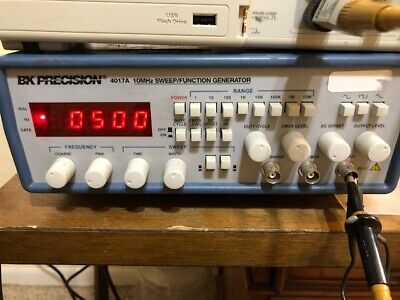 B+K Precision 4017A 10 MHz Digital Sweep Function Generator Tested And Working • 145$
