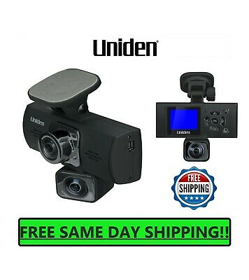 AU58.07 • Buy UNIDEN Dash Cam Dual Camera Auto Video Recorder Front Rear 1080P Mount Mirror