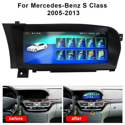 $750.72 • Buy Android Car NAV Stereo GPS Radio For Mercedes-Benz S Class W220 W215 S350 S400