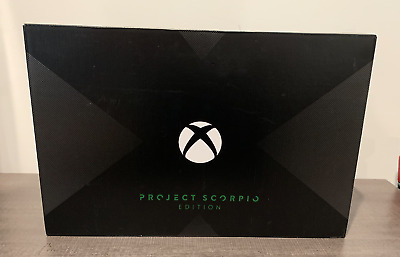 $527 • Buy Microsoft Xbox One X Project Scorpio Edition, 1TB 4K HDR! NEW Factory Sealed
