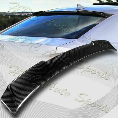 $113.99 • Buy For 2006-2013 Lexus IS250 IS350 IS-F Real Carbon Fiber Rear Roof Spoiler Wing