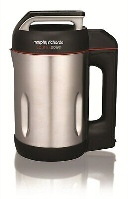 Morphy Richards 501014 1.6L 1000W Stainless Steel Saute & Soup Maker • 68.49£