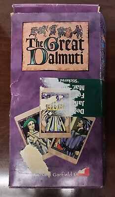 The Great Dalmuti Medieval Card Game From Wizards Of The Coast (1995) NEW SEALED • 21.99$