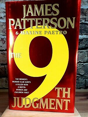 AU10.24 • Buy The 9th Judgment By James Patterson Hardcover Brand New