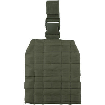 Viper Elite Military Drop Leg Webbing Platform Airsoft Hunting Molle Panel Green • 15.95£